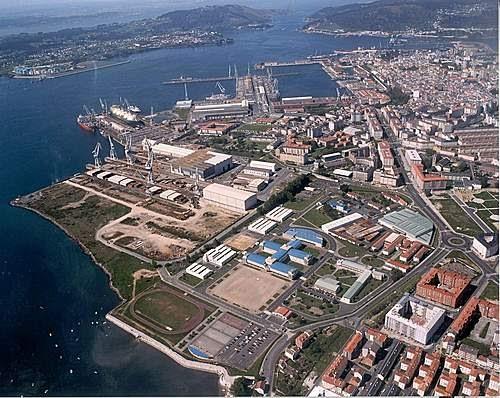 Ferrol historia de 39 39 baz n 39 39 luego 39 39 izar 39 39 y ahora - Temperatura actual ferrol ...