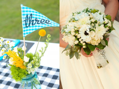pretty picnic wedding