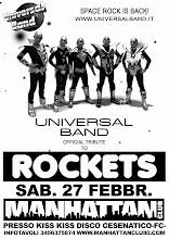 Tributo rockets Live Sab.27 Febbr.2010