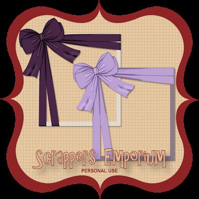 http://scrappersemporium.blogspot.com/2009/08/purple-bow-frames-freebie.html