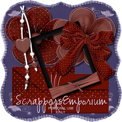 http://scrappersemporium.blogspot.com/2009/10/deep-red-elements-freebie.html