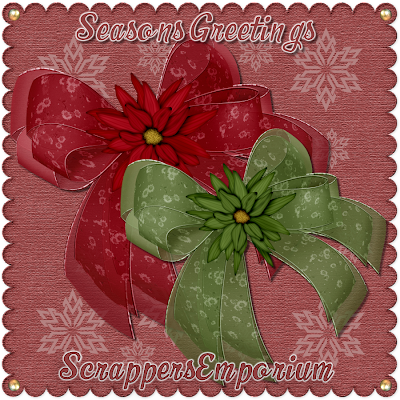 http://scrappersemporium.blogspot.com/2009/11/freebie-christmas-bows.html