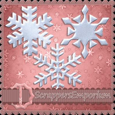 http://scrappersemporium.blogspot.com/2009/11/snowflake-freebie.html