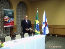 Mestre de Cerimonias  Gilberto M.Braga