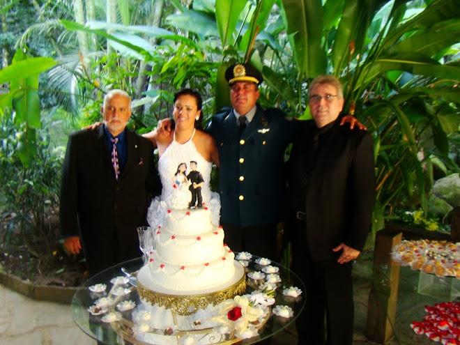 Casamento de Cosme e Carla em 23/05/2010
