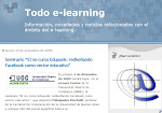 Todo e-learning en Facebook