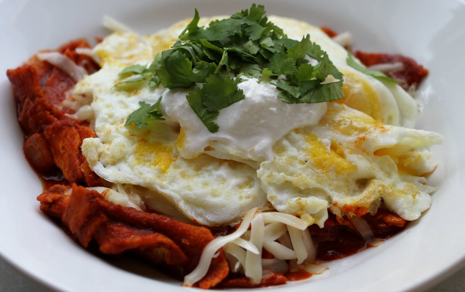 On My Menu: Chilaquiles