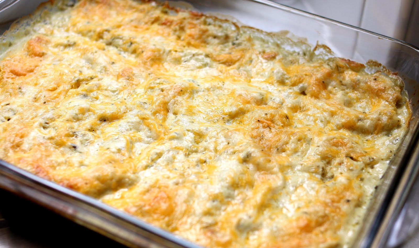 Chicken Enchiladas with Tomatillo Cream Sauce