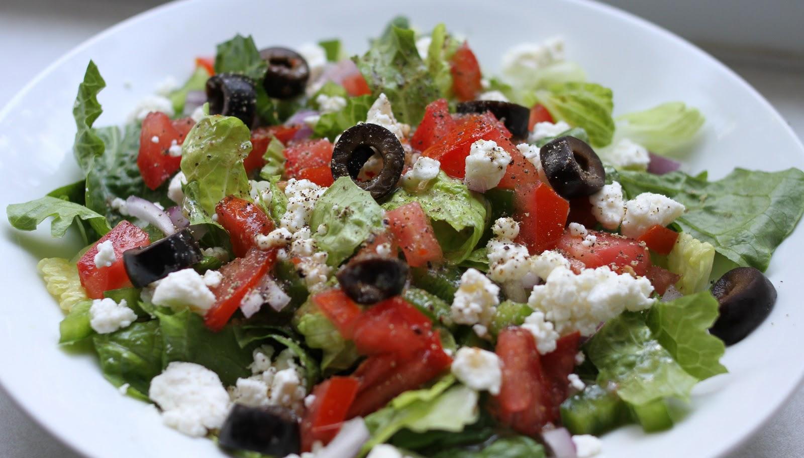 Greek Salad Recipe — Dishmaps