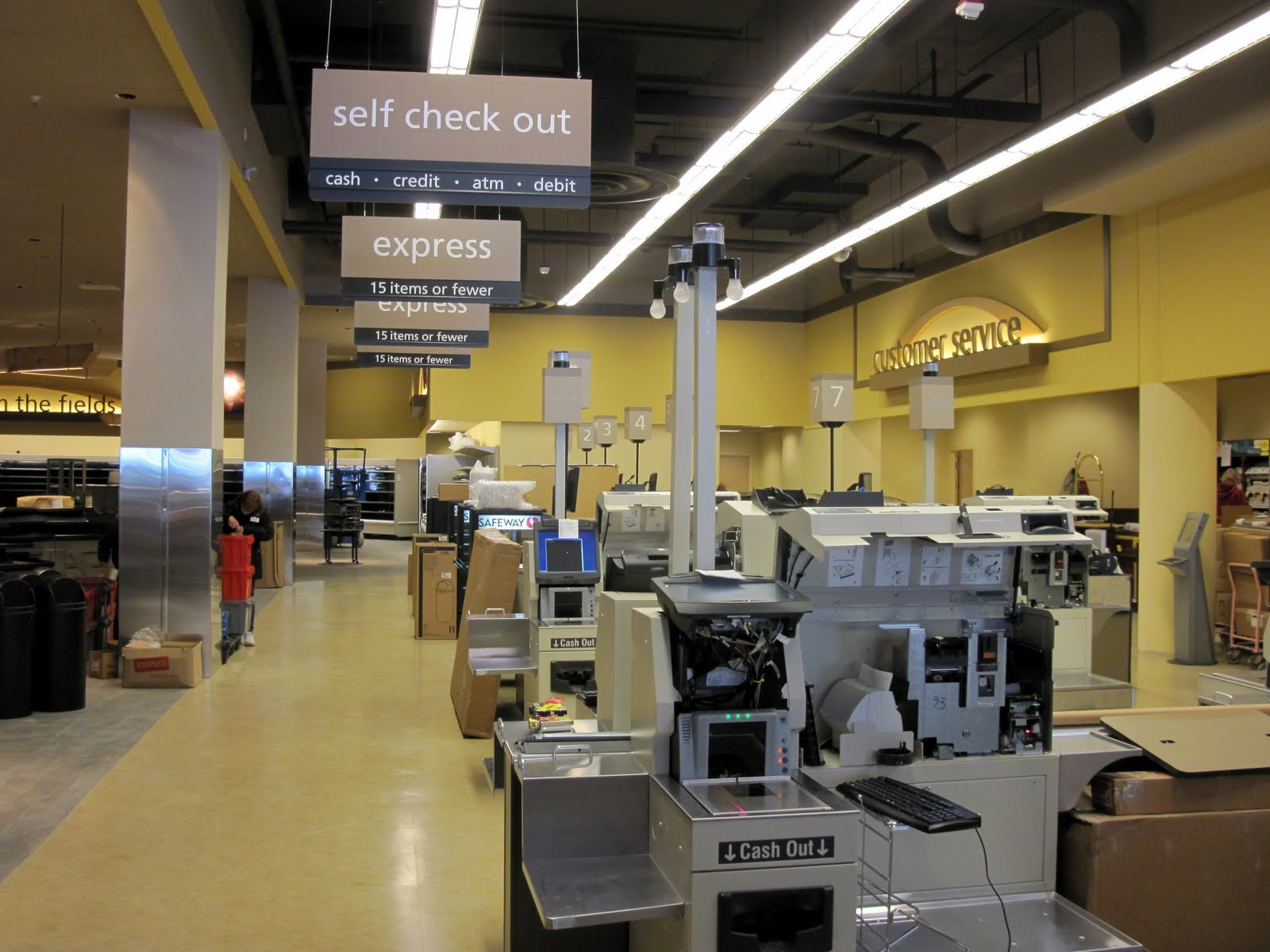 The Little Quadrant That Could: Safeway Sneak Peek