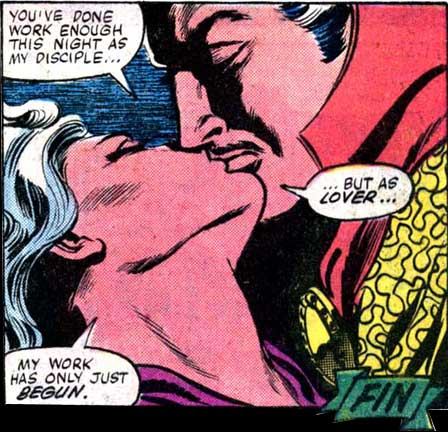 CLEA LOVES SEX! --- The issue ENDS with this steamy panel.