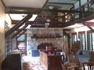 Living Room at Wilwin Lodge