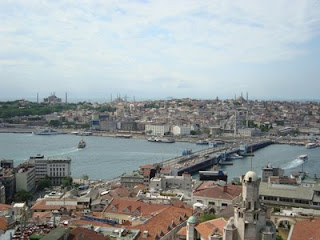 Vista panorâmica de Istambul