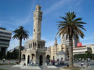 Torre do relógio em Izmir