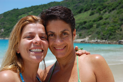 Danielli Pureza e Lina Rivera, Prainha, Arraial do Cabo, primeiro de dezembro de 2007