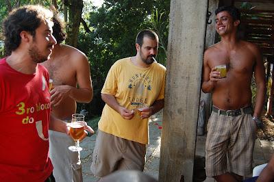Arthur Favela, Piruca, Daniel Frangiotti e Arthur Mitke, 09 de dezembro de 2007