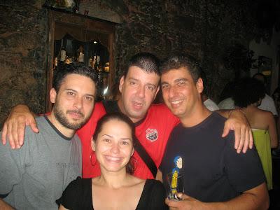 Flavinho, Edu Goldenberg, Marcelo Vidal e Betinha, Trapiche Gamboa, 08 de dezembro de 2007