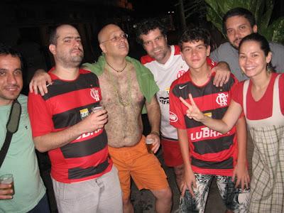 Augusto Diniz, Leo Boechat, Alberto Mussa, Rodrigo Ferrari, Henrique Blom, Flavinho e Betinha, Rio-Brasília, 24 de fevereiro de 2008