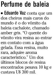 nota publicada na coluna GENTE BOA do SEGUNDO CADERNO de O GLOBO