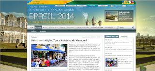imagem do portal do Ministério do Turismo