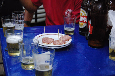 porção de salaminho, QUITANDA ABRONHENSE, na Tijuca