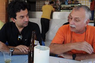 Luiz Carlos Fraga e Isaac Goldenberg, BAR DO CHICO, 02 de novembro de 2009