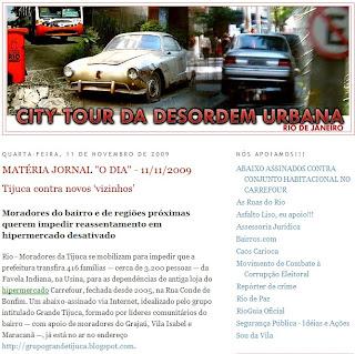 post excluído do blog CITY TOUR DA DESORDEM URBANA