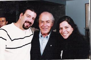 Eduardo Goldenberg, Leonel Brizola e Dani Pureza, 2002