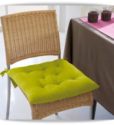 El minihogar for Cojines para sillas walmart