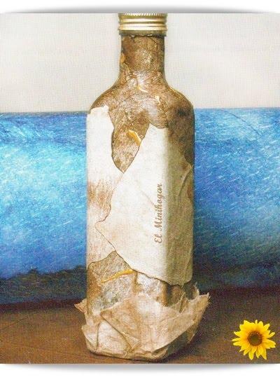 El minihogar - Decorar botellas de cristal ...