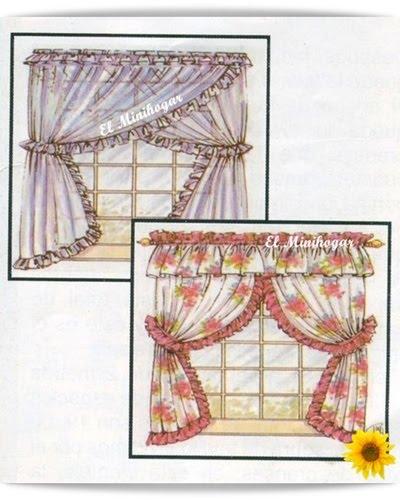 El minihogar - Telas para hacer cortinas ...