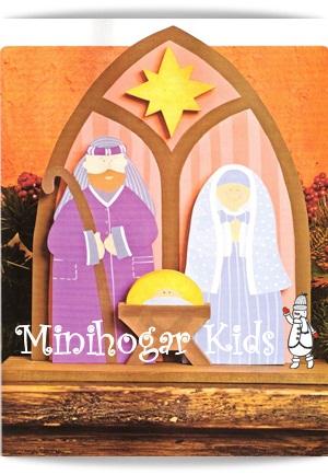 Minihogar kids - Casitas para pesebre de carton ...