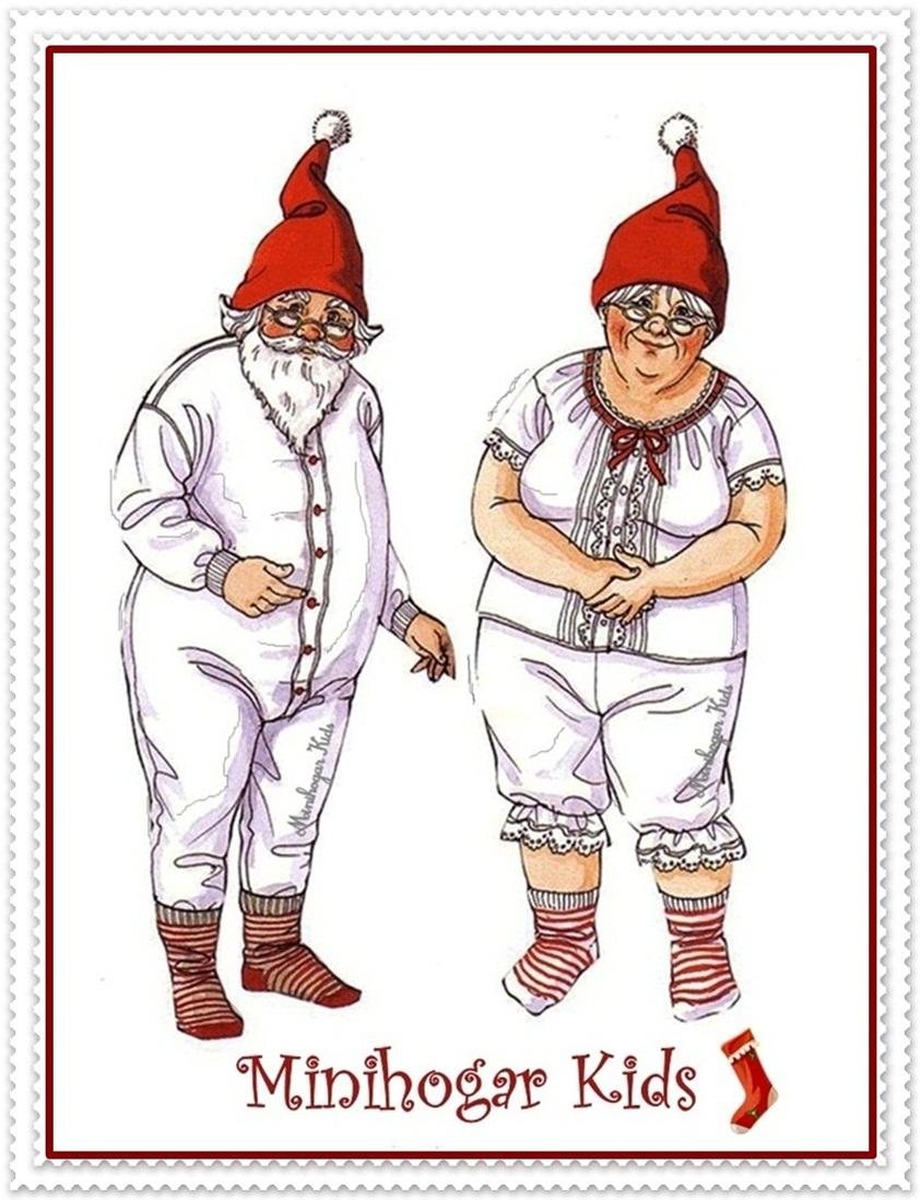 Minihogar kids for Gnomos navidenos
