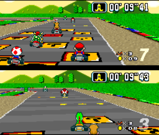 2 players games mario karts