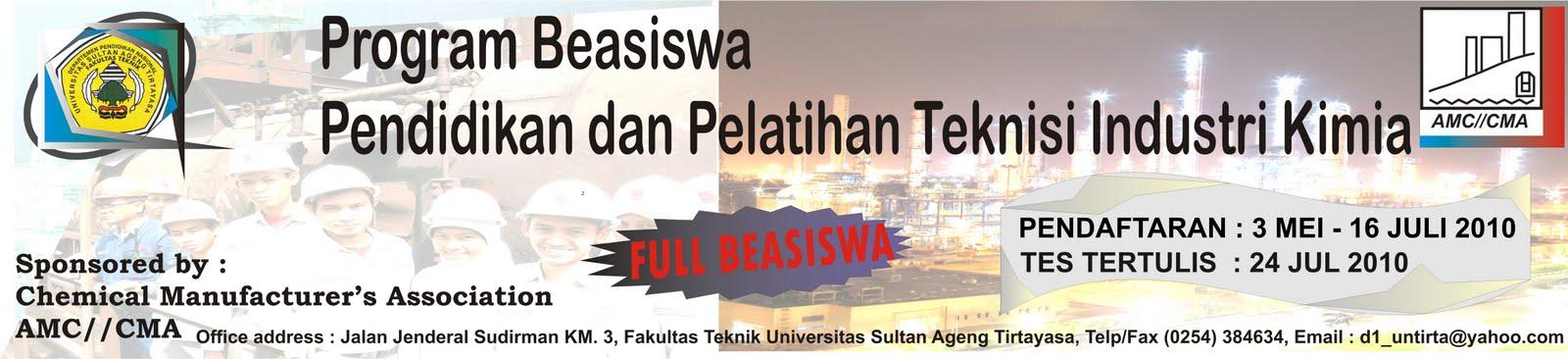 PENDAFTARAN MAHASISWA BARU AMC