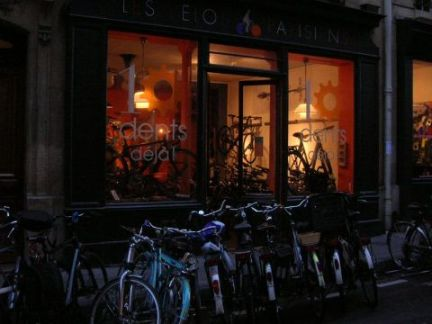 パリの自転車屋さん