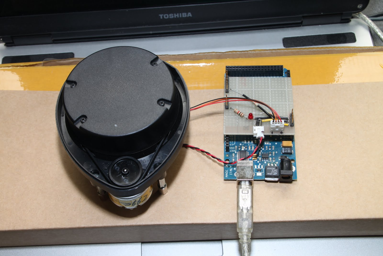 Connect xv lidar to arduino mega