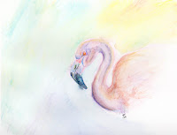 pink flamingo Copyright Jennifer Rose Phillip