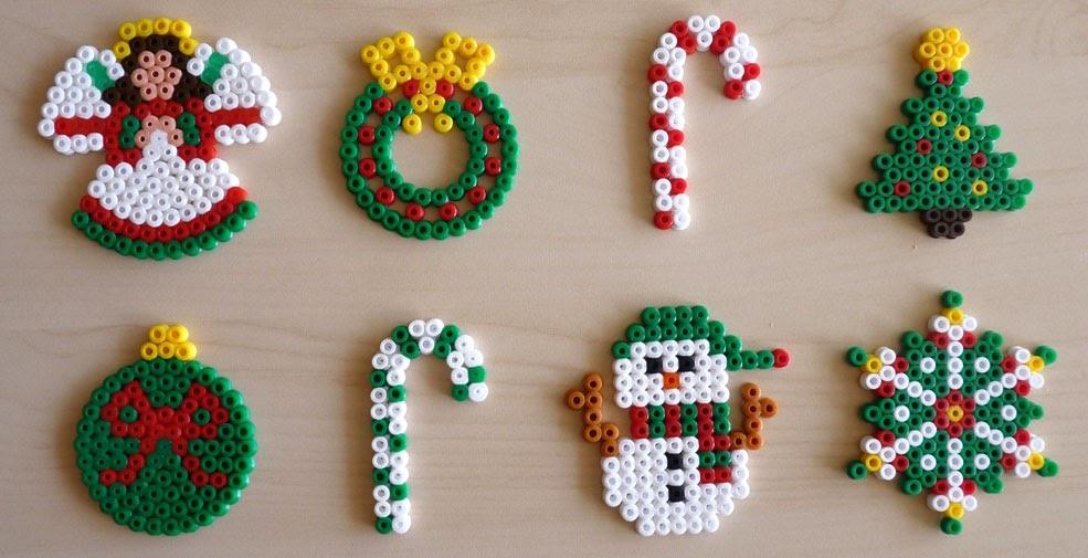 Artesan as y manualidades la zarza adornos de navidad - Manualidades navidad primaria ...