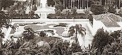 Foto tirada do pátio do Liceu na sua  inauguração (1953)