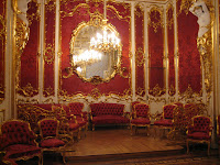 Interior of the state rooms at the Hermitage in St Petersburg