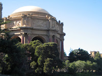 Palace of Fine Arts in San Francisco