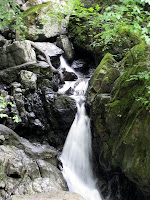 A waterfall in Brecon Beacons National Park in Wales