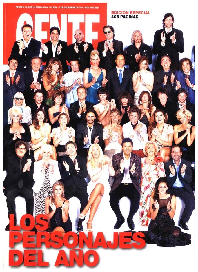 Pasando revista los personajes del a o el for Revistas del espectaculo