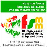 Foro social mundial de las migraciones