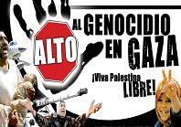 Paren el genocidio en Gaza