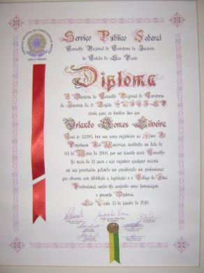 Diploma de Idoneidade Profissional - Creci SP
