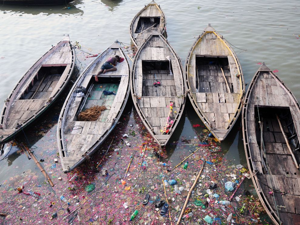 Just getting your attention: GANGES RIVER POLLUTION