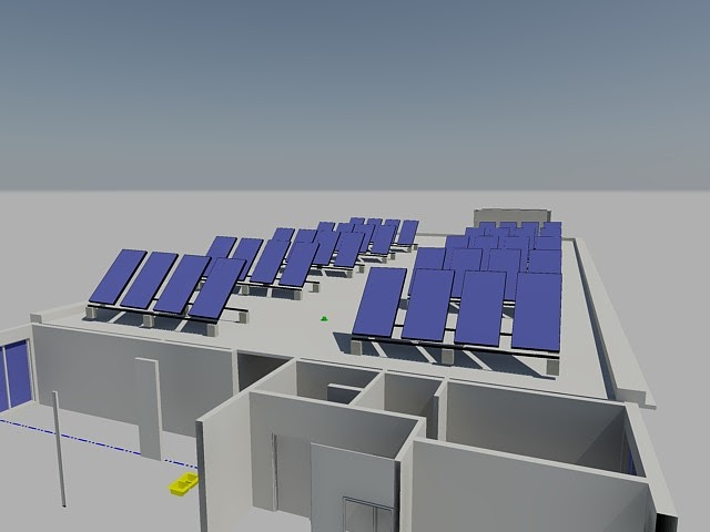 pipe dream solar panel rendering