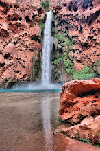 Moony Falls at Havasu Pi
